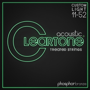 Cleartone ak.húr foszfor bronz Custom Light - 11-52